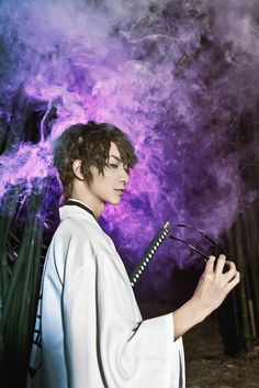 BLEACH - Aizen(蓝染) Sousuke Aizen Cosplay Photo - WorldCosplay