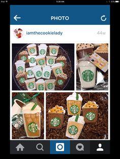 Starbucks Cookies, Ipad, Container, Birthday Cake, Birthday Cakes, Cake Birthday