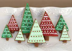christmas cookies trees - Buscar con Google