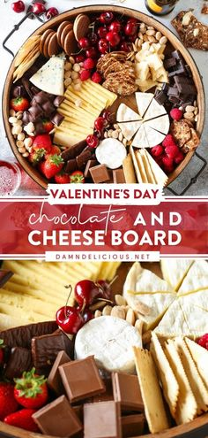 This chocolate charcuterie board will become a favorite party food or finger food! Every single morsel of this easy appetizer for a crowd will be gone before you know it. Plus, this epic dessert cheese board also makes an impressive Valentine's Day treat for date night! Best Party Appetizers, Appetizers For A Crowd, Easy Party Food, Food For A Crowd, Appetizer Recipes, Snack Recipes, Snacks, Damn Delicious Recipes, Delicious Desserts