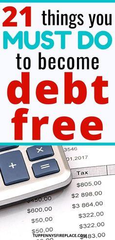 Best Money Saving Tips, Saving Money, Money Tips, Debt Repayment, Debt Payoff, Debt Free Living, 21 Things, Resume Tips, Managing Your Money