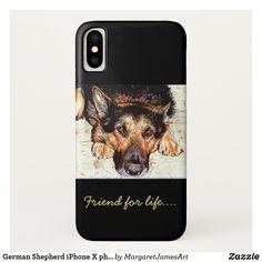 German Shepherd iPhone X phone case