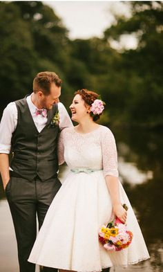 Read more Stunning Vibrant Colourful wedding at Village hall http://www.itakeyou.co.uk/wedding/village-hall-wedding-photography/ Photo : mikiphotography.info  country wedding ideas,bride and groom wedding photos
