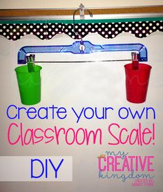 Create your Own Classroom Scale - DIY