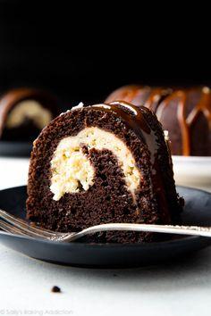 "fullcravings: ""Chocolate Cream Cheese Bundt Cake """