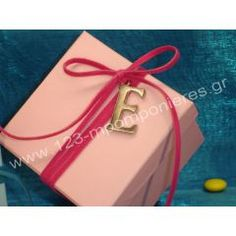 ΜΟΝΟΓΡΑΜΜΑ - Θέμα Βάπτισης | 123-mpomponieres.gr Gift Wrapping, Gifts, Gift Wrapping Paper, Presents, Wrapping Gifts, Gift Packaging, Gifs, Wrapping, Present Wrapping