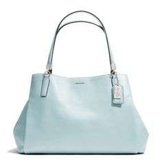 The Madison Cafe Carryall In Leather from Coach     love this color!
