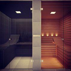 Bespoke Glass Steam Room and Sauna - Saunas - by Steam and Sauna Innovation Home Steam Room, Sauna Steam Room, Steam Bath, Sauna Room, Saunas, Basement Sauna, Steam Room Shower, Sauna House, Spa Interior