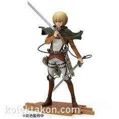 BRAVE-ACT #AttackOnTitan #Armin #Arlert available for pre-order at https://kolektakon.com/product/113 #Anime #Manga #ShingekinoKyojin
