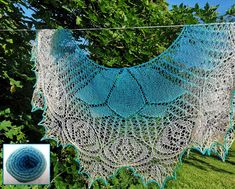 A new and beautiful beaded lace design from Anna Victoria of By the Lily Pond designs, we have put together some kits complete with beads so you can knit her Un... Knitting Kits, Knitting Patterns, Pond Design, Blue Lotus, Lily Pond, Bead Kits, Lace Design, Beaded Lace, Canopy