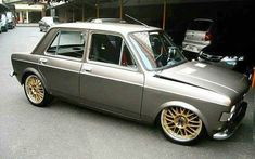 Image may contain: car Retro Cars, Vintage Cars, Fiat 126, Datsun 510, Fiat Abarth, Its A Mans World, Modified Cars, Small Cars, Car Car