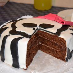 Tarta de fondant y chocolate High Monster