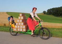 Cargo bike truck