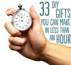 33 DIY Gifts You Can Make In Less Than An Hour - BuzzFeed