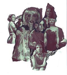 nathalie portman collage by Tytti Roto