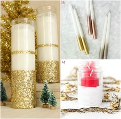 14 DIY Holiday Candle Projects