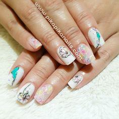 """#nail #nails #fashion #nailart #art #love #beauty #beautiful #cute #ногти #дизайнногтей #girl #gliter #polish #nailpolish #instagood #ネイル #unhas #style…"""