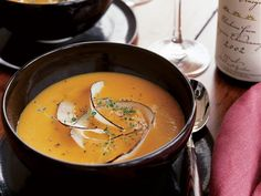 Butternut Squash Soup with Coconut and Ginger   Food & Wine goes way beyond mere eating and drinking. We're on a mission to find the most exciting places, new experiences, emerging trends and sensations.