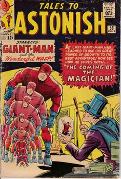 Tales to Astonish 56 June 1964 Issue Marvel Comics by ViewObscura