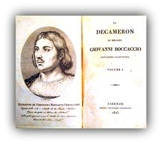 READING BEST ITALIAN NOVELS – The Decameron, by Giovanni Boccaccio - Meeting Benches
