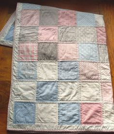Lullaby of broadway patchwork quilt cot by fionascardsandgifts, £100.00