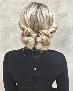 Quick and easy hairstyle for when you need to look nicce :D//Two+Low+Buns+For+Long+Hair//Easy updos//Fun hairstyles//Hair twist// hairstyles braids 20 Date-Night Hair Ideas to Capture all the Attention Curly Hair Styles, Medium Hair Styles, Updo Styles, Hair Twist Styles, Long Hair Styles 2018, Hair Styles For Gym, Hair Do For Medium Hair, Twist Hairstyles, Latest Hairstyles