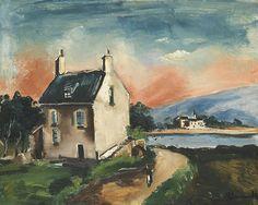 blastedheath: Maurice de Vlaminck (French, 1876-1958), Le Lac...