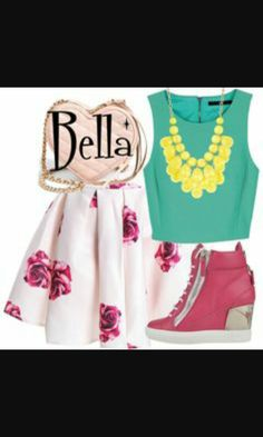 Cute bella and the bulldogs outfit