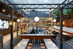 A classic in the making. The Boqueria restaurant designed by Tengbom Architects