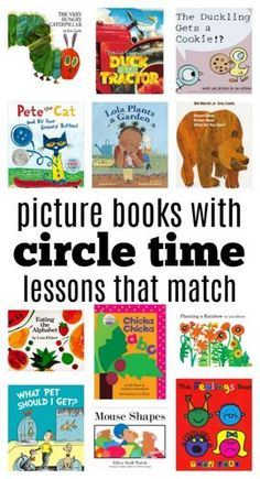 Circle Time Activities and Books for The First Week Of Preschool - No Time For Flash Cards