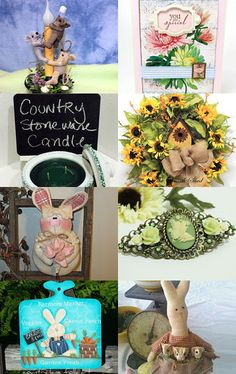Spring Things and Needfuls by Susan Smith on Etsy--Pinned with TreasuryPin.com