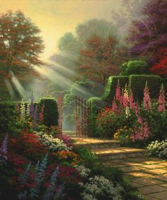 Garden of Grace | The Thomas Kinkade Company