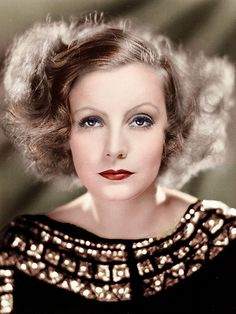 Greta Garbo, this is for my Grandpa and in remembrance of his love of the movies.