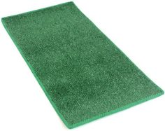 """HEAVY TURF (15.5 Oz.) - 12'x50' Artificial Grass Carpet Indoor / Outdoor Area Rug. 5/16"""" Thick, Premium Nylon Fabric BOUND EDGES .UV-Protected - weather and Fade-resistant ,100% UV olefin. MANY SIZES and Shapes. Rectangles, Squares, Circles, Half Rounds, Ovals, and Runners. -- Click image to review more details."""