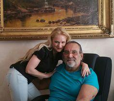 Con il mio zio Mario Salieri,una persona splendida oltre ad essere un regista eccezionale