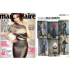 MARIE CLAIRE January 2010