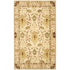 @Overstock.com - Handmade Oushak Ivory Wool Rug (5' x 8') - Complement your home decor with a handmade, hand-spun wool rug Floor rug features a traditional design Area rug boasts a luxurious ivory background   http://www.overstock.com/Home-Garden/Handmade-Oushak-Ivory-Wool-Rug-5-x-8/3102825/product.html?CID=214117 $184.89