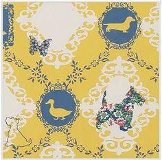 duck vintage wallpaper Vintage Style Wallpaper, Duck Wallpaper, Scottish Terrier, Vintage Fashion, Symbols, Indoor, Pattern, Room, Ideas