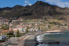 Machico Beach by Dmitri Korobtsov, via Flickr Madeira, Portugal