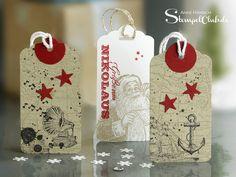 Anhänger, Tags, Open sea, Nikolaus, Sterne, Weihnachten