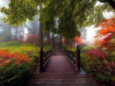 Moon Bridge at Portland Japanese Garden