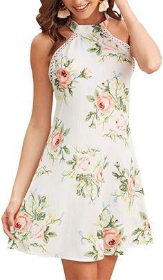 Neckholder Sommerkleid - Mode Models, Dresses, Fashion, Chic, Summer Recipes, Curve Dresses, Moda, Vestidos, Fashion Styles