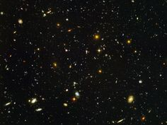 Galaxies, galaxies everywhere - as far as the NASA/ESA Hubble Space Telescope can see. This view of nearly galaxies is the deepest visible-light image of the cosmos. James Webb Space Telescope, Hubble Space Telescope, Telescope Images, Nasa Space, Telescope Craft, Space Planets, Cosmos, Space Photos, Space Images
