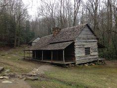 Little old shack in the woods by ed printz guns water for Log cabin gunsmithing
