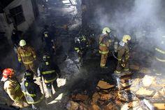 La emergencia, que se originó a las 09:51 fue atendida por 100 bomberos de 20 unidades.