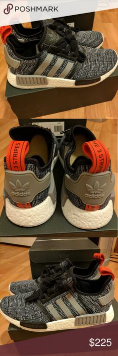NEW ADIDAS MEN NMD R1 GLITCH CORE BLACK CAMO Newest colorway for adidas men NMD, sold out everywhere!  Men sizes 9, 9.5, 10  Deadstock.  100% authentic.  Will be shipped with original box and protection box.  No trades.  Price is firm.  No returns for incorrect size, size is as described in description  Check out my account for more shoes and sizes!  Tags:Adidas, Jordan, Nike, retro, boost, Yeezy, ultra boost, prime knit, supreme, make up, contacts Adidas Shoes