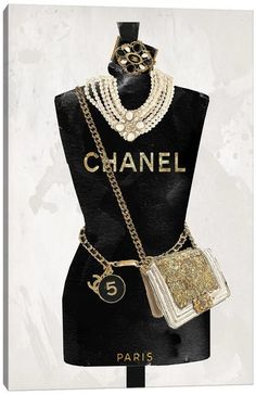 Chanel Wall Art, Canvas Prints & Paintings   iCanvas Chanel Wall Art, Chanel Canvas, Chanel Decor, Fashion Artwork, Fashion Wallpaper, Fashion Wall Art, Chanel No 5, Coco Chanel, Black And White Aesthetic