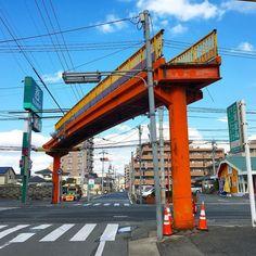 歩道橋のトマソン #トマソン #赤瀬川原平 #現代アート (by ytanet)