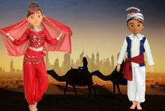 Careb and Sophia Arabian night