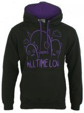 All Time Low Ghosts Ladies Blue T-Shirt - Offical Band Merch - Buy Online at Grindstore.com